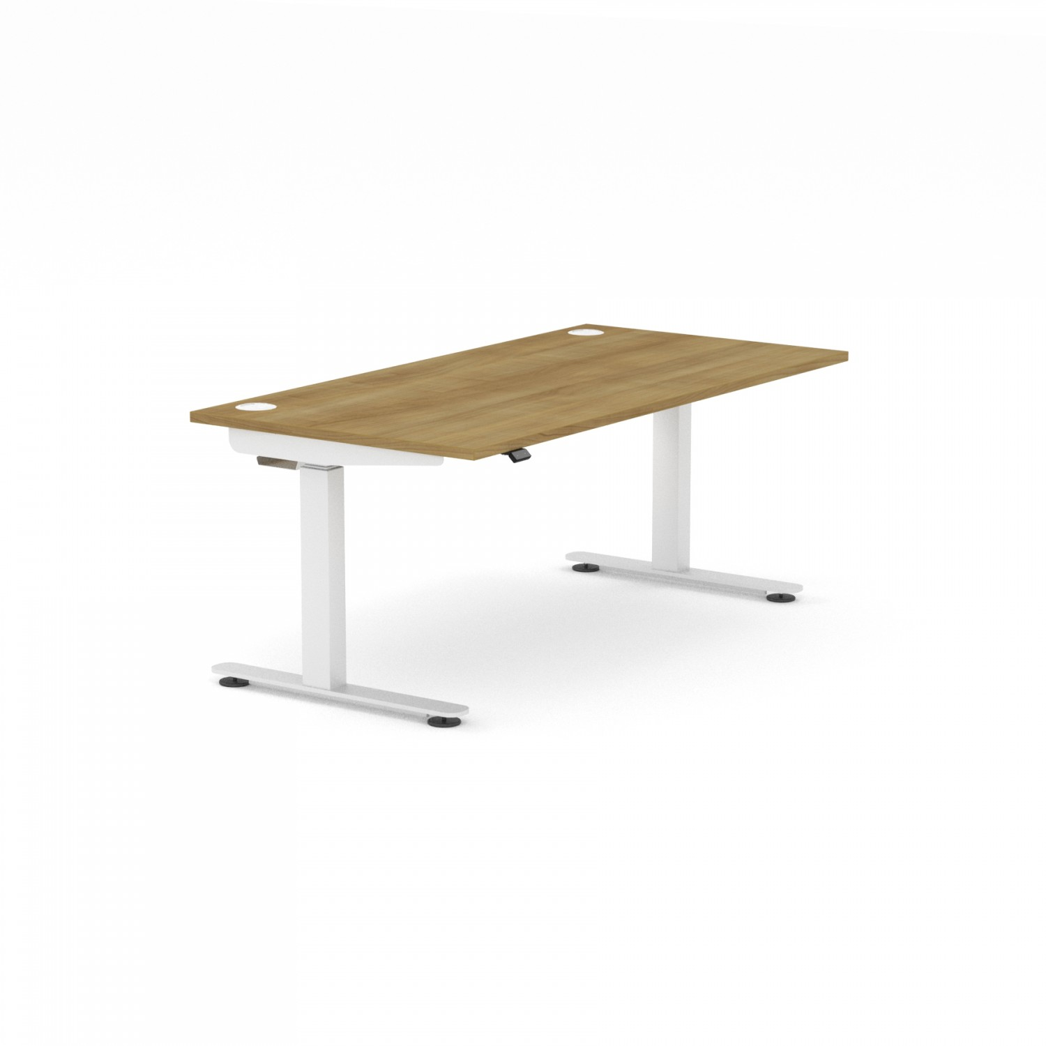 InMotion Rectangular Single Desk