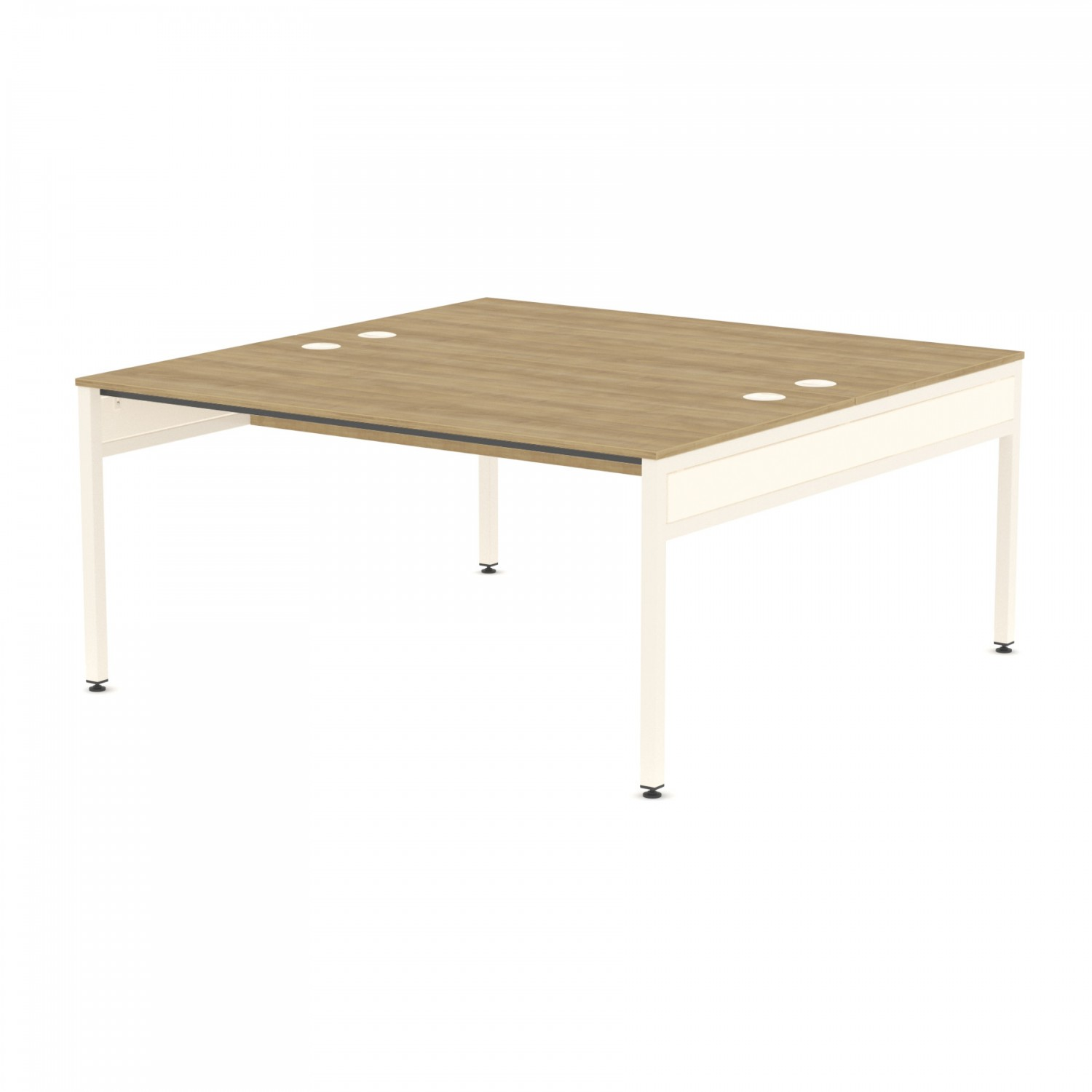 Libra Rectangular Twin Bench (Back to Back) Desk