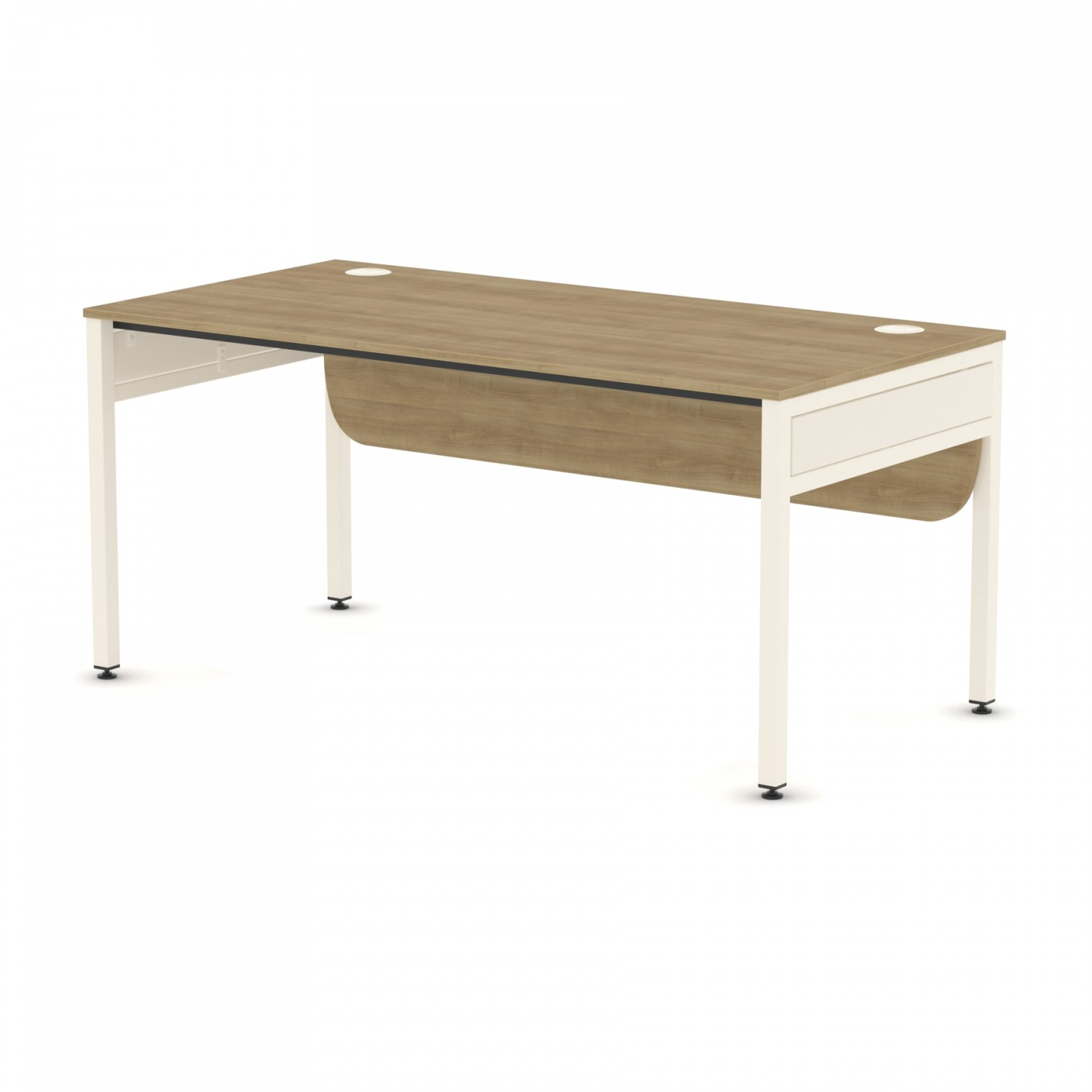 Libra Rectangular Single Desk Desk