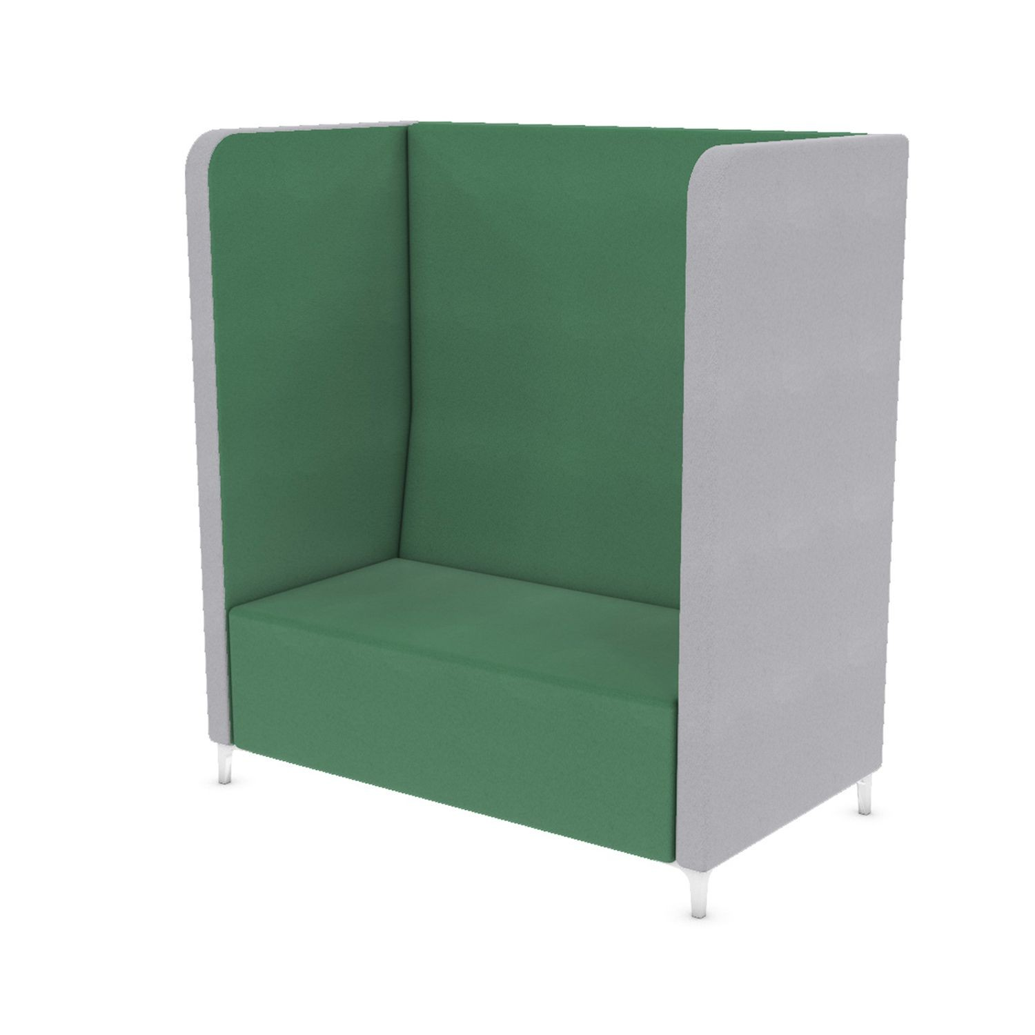 Soft Seating Amity Double Tall Booth