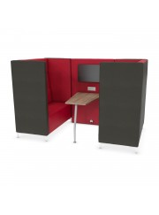 Soft Seating Amity Media Booth