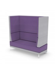 Soft Seating Mount Double Booth