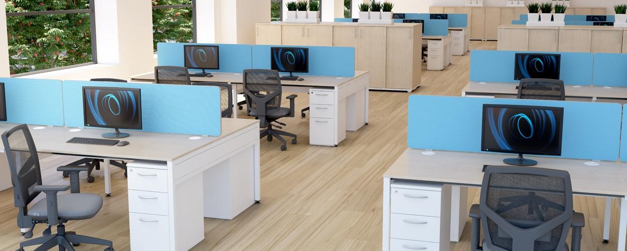 Libra Bench Desking