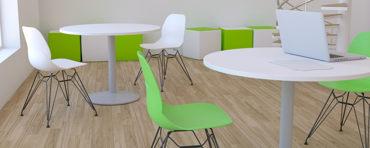 Lingwood stools and round tables
