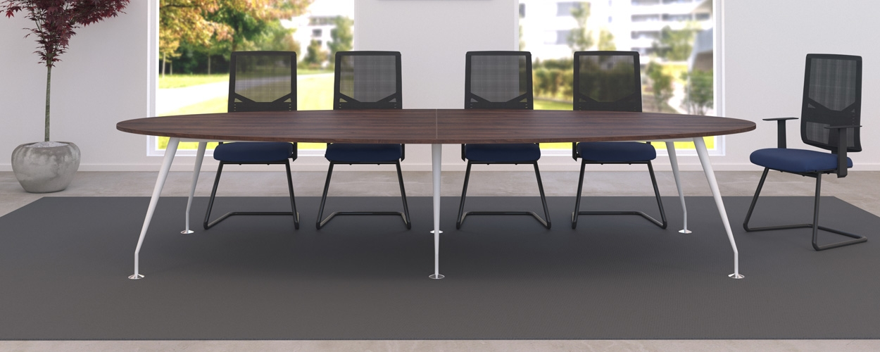 Spire Oval Boardroom tables