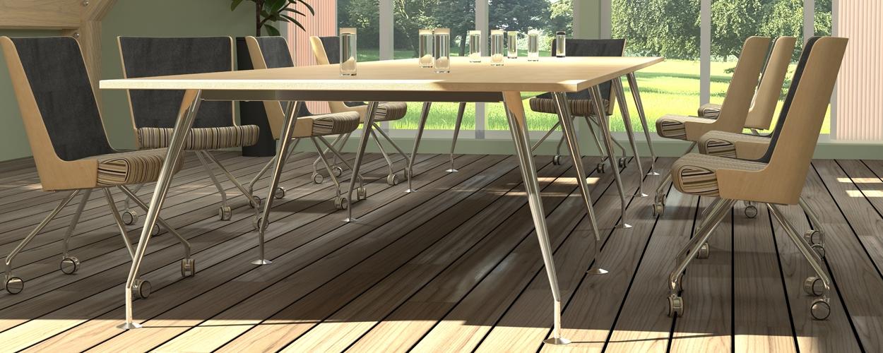 Spire Boardroom table