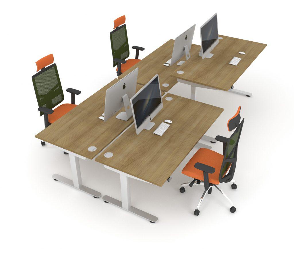 InMotion Sit Stand Desks Ergonomics