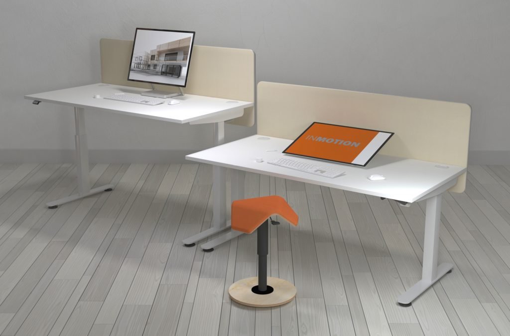 LIIKU-Joy Stool with InMotion Desk
