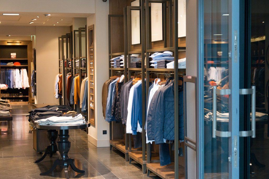 High Street Clothes Shop