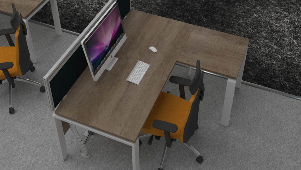 AuraBench Workstation with Return Desk