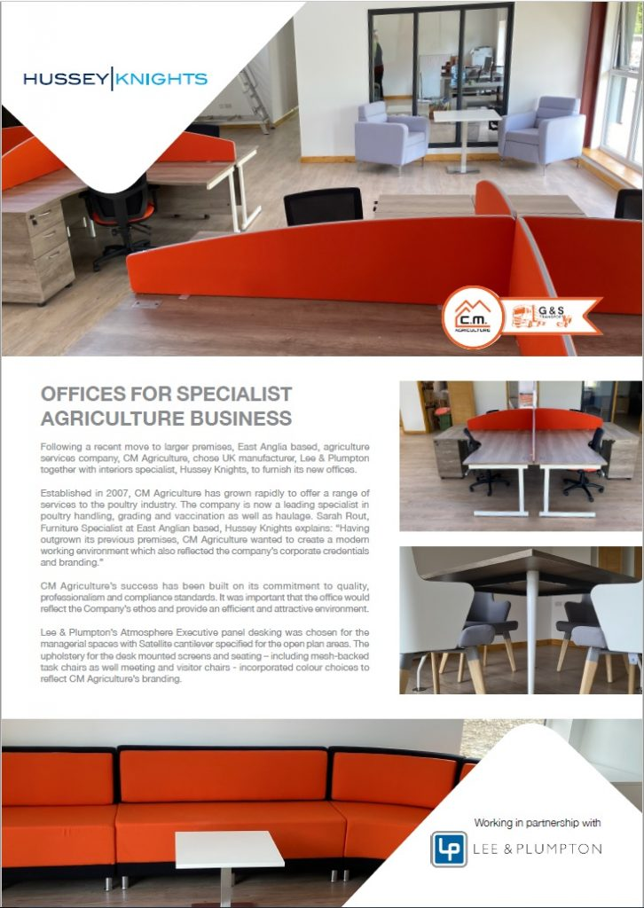 Hussey Knights Case Study Pg.1